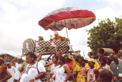 Picture of Enstoolent of King Peggy carried in Palaquin